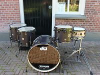 DW Drums set Satin Oil