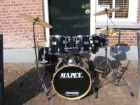 Mapex Drumset Black