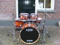 PDP drumset Sunburst Fade
