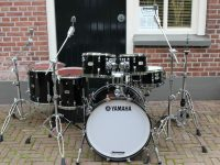 Yamaha Hybrid Maple set Solid Black